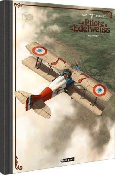 Couverture Le pilote à l'Edelweiss - tirage de luxe tome 2 - Sidonie