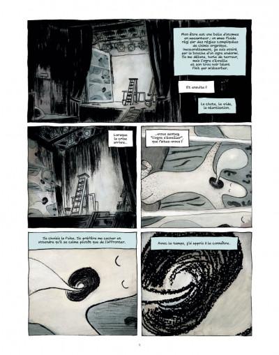 Page 1 des fragments de l'oubli tome 3 - l'homme oiseau