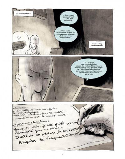 Page 3 des fragments de l'oubli tome 3 - l'homme oiseau