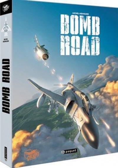 Couverture bomb road - coffret tome 3 + câle