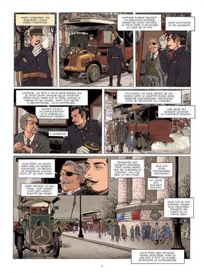 Page 1 Le courrier de Casablanca tome 1