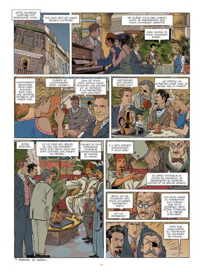 Page 4 Le courrier de Casablanca tome 1