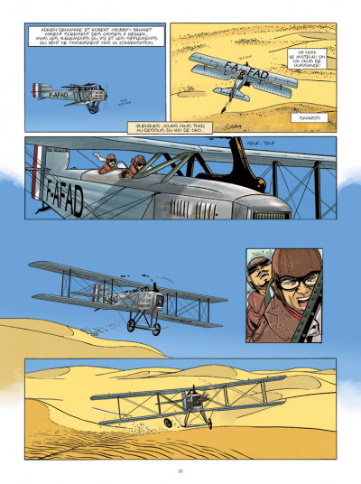 Page 5 Le courrier de Casablanca tome 1