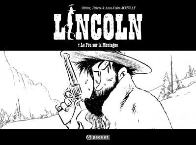 Couverture Lincoln tome 7 - le fou sur la montagne - édition limité