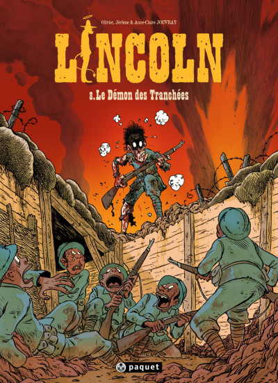 Couverture Lincoln tome 8 - le démon des tranchées