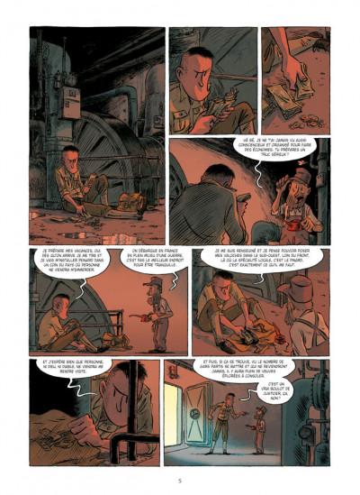 Page 3 Lincoln tome 8 - le démon des tranchées