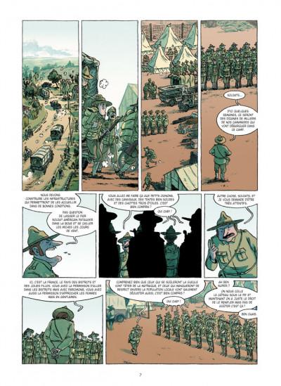 Page 5 Lincoln tome 8 - le démon des tranchées
