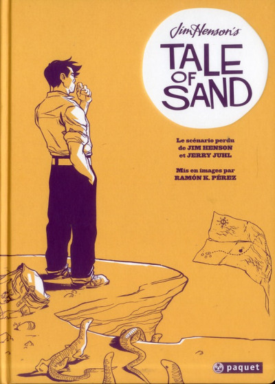 Couverture Jim Henson's tale of sand