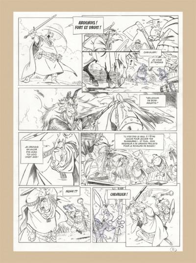 Page 5 L'épée d'Ardenois tome 1