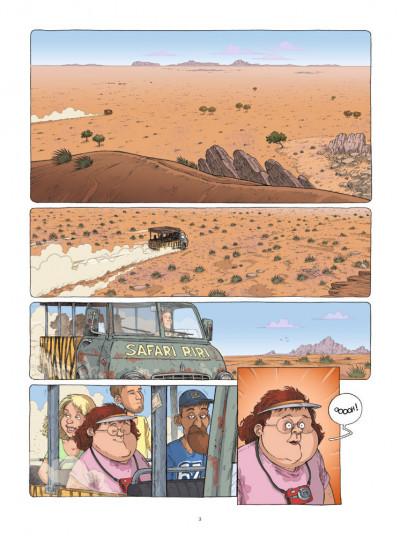 Page 1 Mamada tome 1 - époustouflante migrante