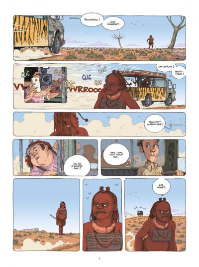Page 2 Mamada tome 1 - époustouflante migrante