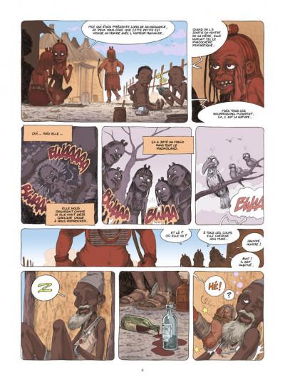 Page 4 Mamada tome 1 - époustouflante migrante