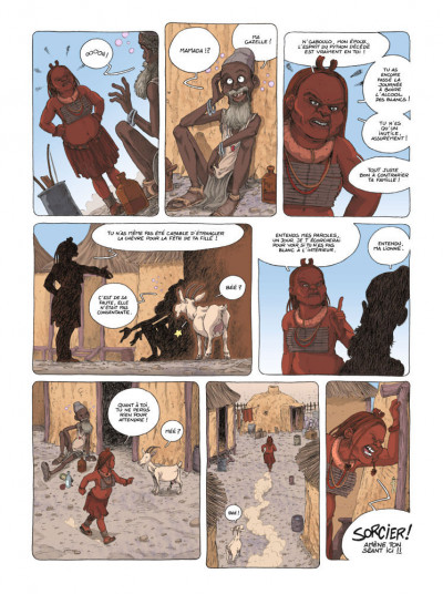 Page 5 Mamada tome 1 - époustouflante migrante