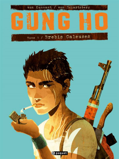 Couverture Gung Ho tome 1