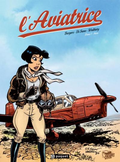 Couverture L'aviatrice tome 1 - Nora
