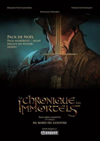 Couverture Chronique des immortels - pack de noël tomes 1 à 3