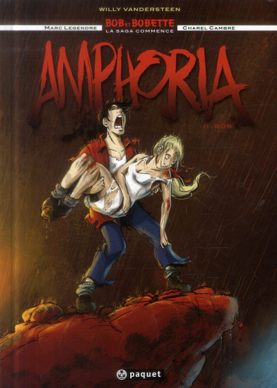 image de Bob et Bobette - Amphoria tome 1 - Bob