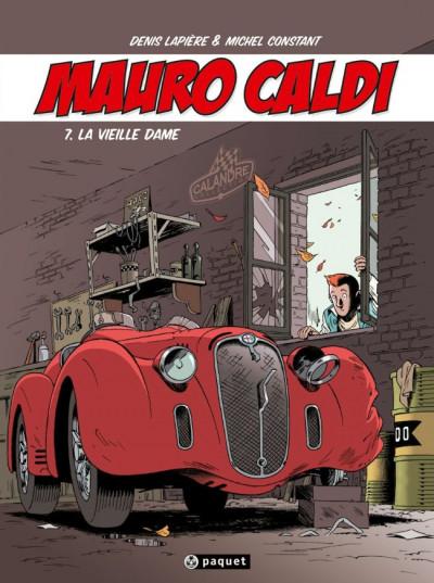 Couverture Mauro Caldi tome 7 - La Vieille Dame