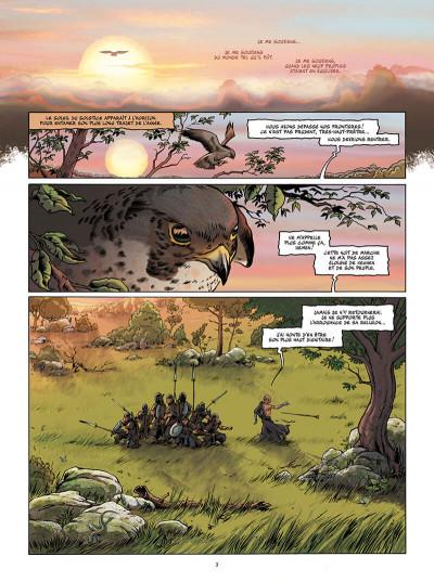 Page 3 Le dixième peuple tome 1 - Dahouti