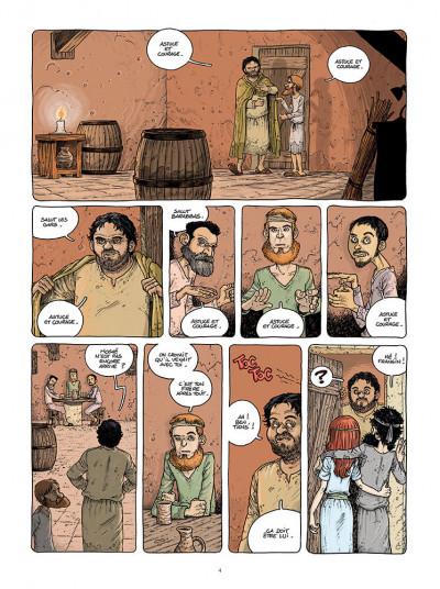 Page 2 Le voyage des pères tome 4