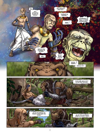 Page 3 Le dixième peuple tome 2 - Dahouty