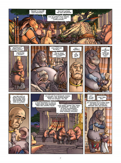Page 7 Le dixième peuple tome 2 - Dahouty