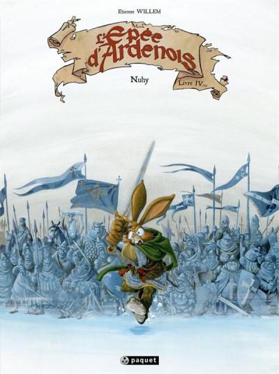 Couverture L'épée d'Ardenois tome 4