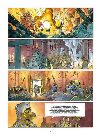 Page 2 L'épée d'Ardenois tome 4