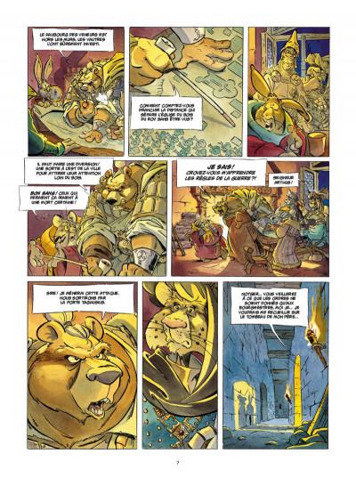 Page 5 L'épée d'Ardenois tome 4