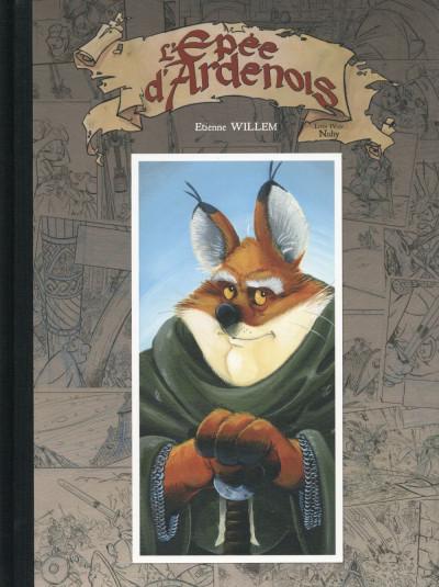 Couverture L'épée d'Ardenois tome 4 - édition spéciale