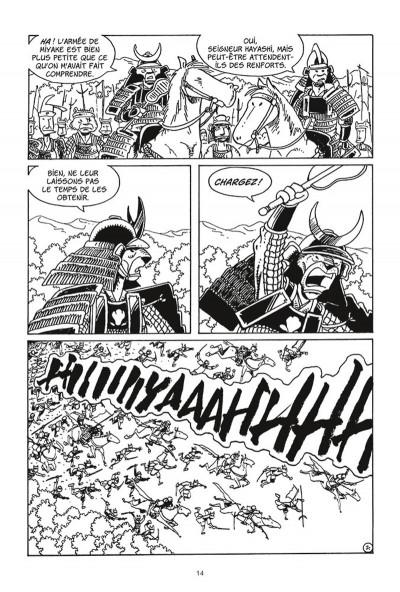 Page 2 Usagi Yojimbo tome 26