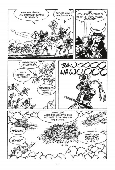 Page 3 Usagi Yojimbo tome 26