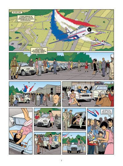 Page 1 Les enquêtes auto de Margot tome 3 - édition spéciale calandre