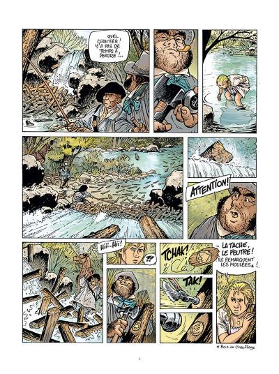 Page 2 Le Grand Fleuve tome 1