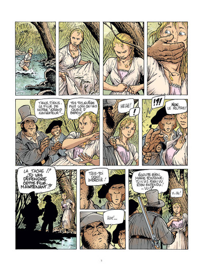 Page 3 Le Grand Fleuve tome 1
