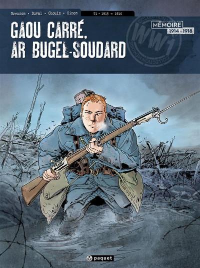 image de Jean-Corentin Carré l'enfant soldat tome 1 - 1915-1916 (version breton)