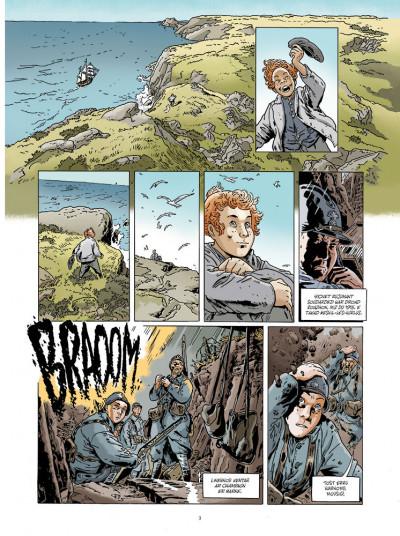 Page 1 Jean-Corentin Carré l'enfant soldat tome 1 (version breton)