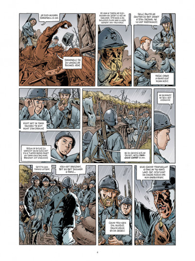 Page 2 Jean-Corentin Carré l'enfant soldat tome 1 (version breton)
