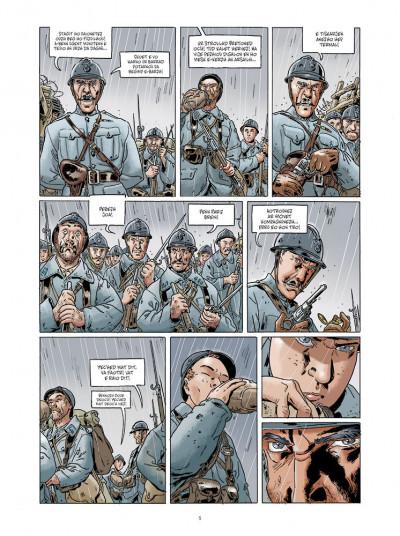 Page 3 Jean-Corentin Carré l'enfant soldat tome 1 (version breton)