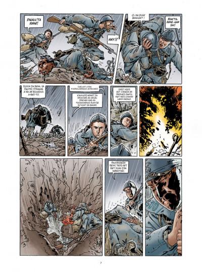 Page 5 Jean-Corentin Carré l'enfant soldat tome 1 (version breton)