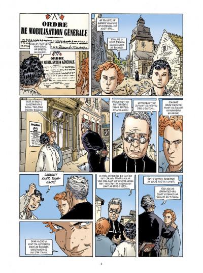 Page 6 Jean-Corentin Carré l'enfant soldat tome 1 (version breton)