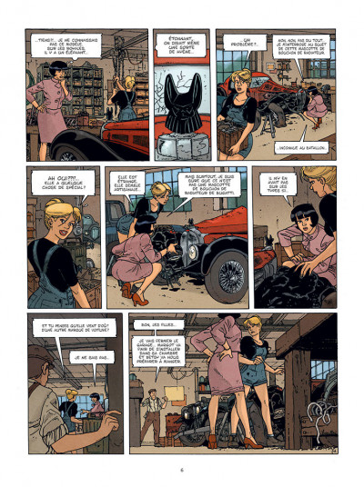 Page 4 Les aventures de Betsy tome 1