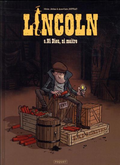 Couverture Lincoln tome 9