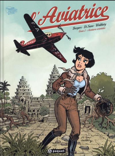 Couverture L'aviatrice tome 2