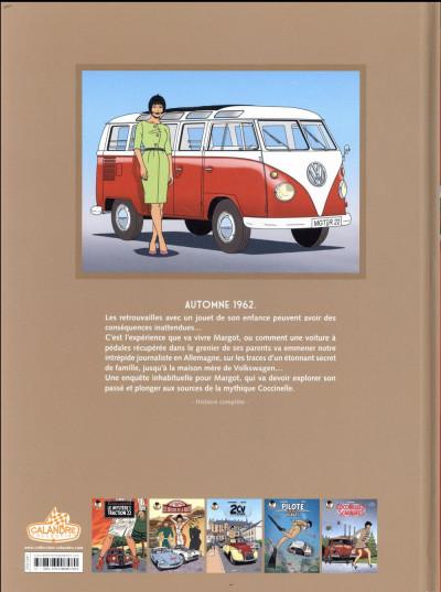 Dos Les enquêtes auto de Margot tome 5