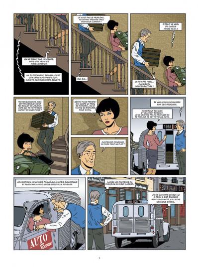 Page 3 Les enquêtes auto de Margot tome 5