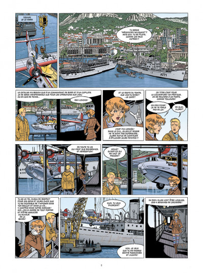 Page 5 Gilles Durance tome 2 - Catalina, mon amour