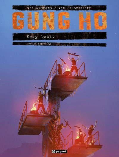 Couverture Gung Ho - édition deluxe tome 3.2