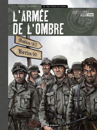 Couverture L'armée de l'ombre - édition toilée tome 4