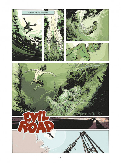 Page 1 Evil Road